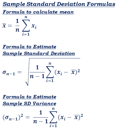 Standard Deviation Calculator| Calculate Mean, Variance | Easily